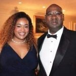 Cortez Kennedy with his daughter Courtney