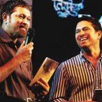 Nitin Tendulkar with Sachin Tendulkar