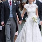 Pippa Middleton with James Matthews wedding photo