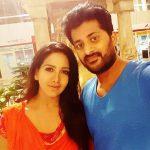 Pradeep Kumar with his wife