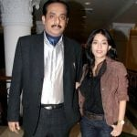Amrita Rao with her father Deepak Rao