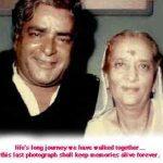 Prithviraj Kapoor with Ramsarni Mehra Kapoor