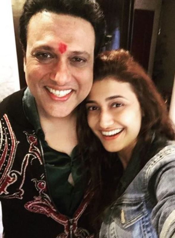 Ragini Khanna with Govinda