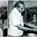 Ramesh Tendulkar with Sachin Tendulkar