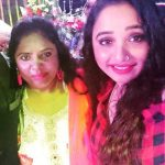 Rani Chatterjee with her mother