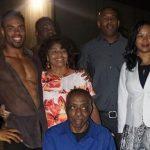 Rashad Jennings with his family