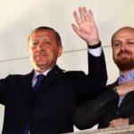 Recep Tayyip Erdoğan with his son