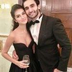 Rohan Mehra with Tara Sutaria