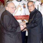 Ruskin Bond awarded the Padma Bhushan