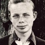 Ruskin Bond in teenage years