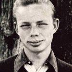 Ruskin Bond in teenage years
