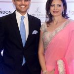 Sachin Pilot With His Wife Sarah