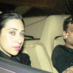 Sandeep Toshniwal with Karisma Kapoor