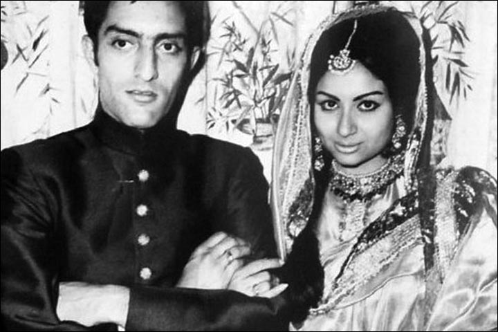 Sharmila Tagore's Marriage Photo