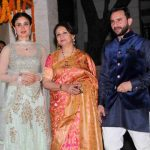 Sharmila with Saif and Kareena
