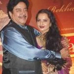 Shatrugan Sinha dated Rekha