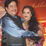 Shatrugan Sinha dated Rekha