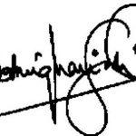 Shatrughan Sinha signature