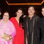 Shatrughan Sinha with family