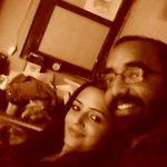Shehla Rashid Shora with her Boyfriend Akbar