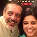Shishir Sharma with his daughter Diya Sharma