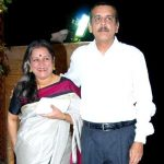 Shishir Sharma with his wife