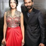 Shruti Haasan with Dhanush