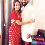 Shruti Rawat with her husband Nikhil Agawane
