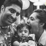 Shveta with her husband & daughter