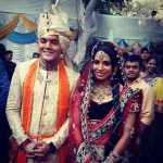 Lavin Gothi with his wife Sneha Kapoor