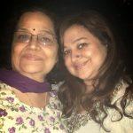 Supriya Shukla with her mother Sunita Raina