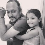 Tochi Raina with his daughter Saibo