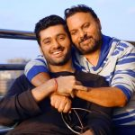 Utkarsh Sharma with his father Anil Sharma