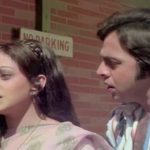 Vinod Mehra with Bindiya Goswami