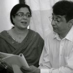 Vivek Lagoo with Reema Lagoo