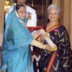 Waheeda Rehman Receiving Padma Bhushan