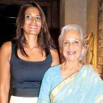 Waheeda Rehman with daughter Kashvi