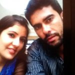Khalid Jamil with his wife