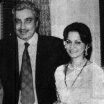 Waheeda Rehman and her Husband Kamaljeet