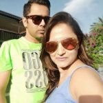Aakash Chopra with his wife