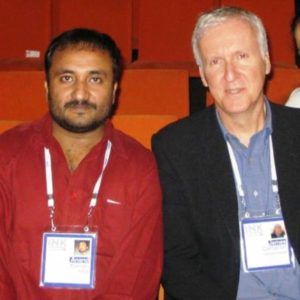 Anand Kumar With James Cameron