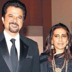 Anil Kapoor With His Wife