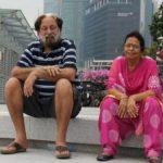 Arun Bali wife
