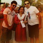 Ashish Duggal family