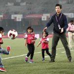 Bhutia with his children