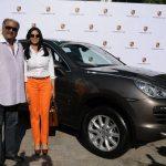 Boney Kapoor Porsche Cayenne