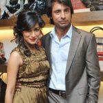 Chitrangada Singh with her Ex-husband Jyoti Randhawa
