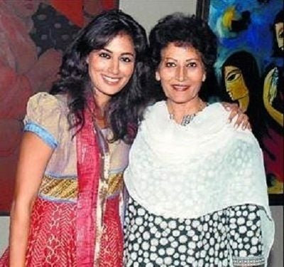 Chitrangada Singh with her mother