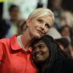 Cindy McCain with her daughter Bridget