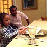 Devangana Kumar's husband & daughter